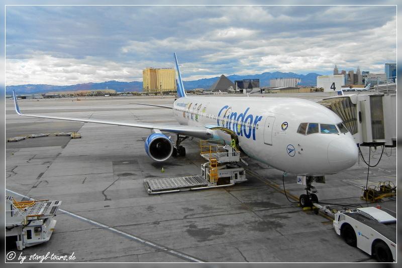 Flug Frankfurt Vegas